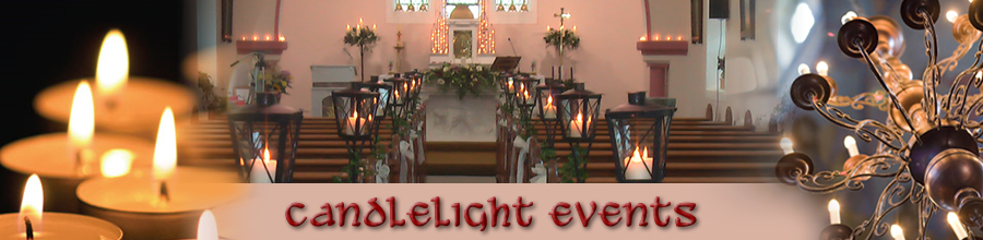 Candlelight events portfolio images of church decorations for weddings wedding candle decoration mayo wedding candles mayo church decorations mayo church candles mayo junglespirit Gallery