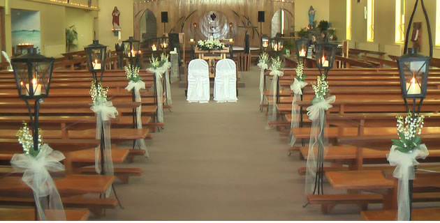 Candles For Weddings Church Wedding Mayo Sligo Roscommon Leitrim Galway